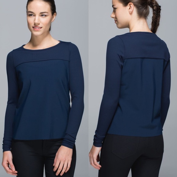 lululemon athletica Tops - Lululemon Out Of This World Long Sleeve